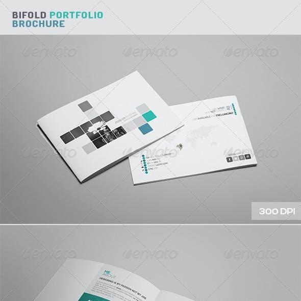 Bi - Fold Portfolio Brochure