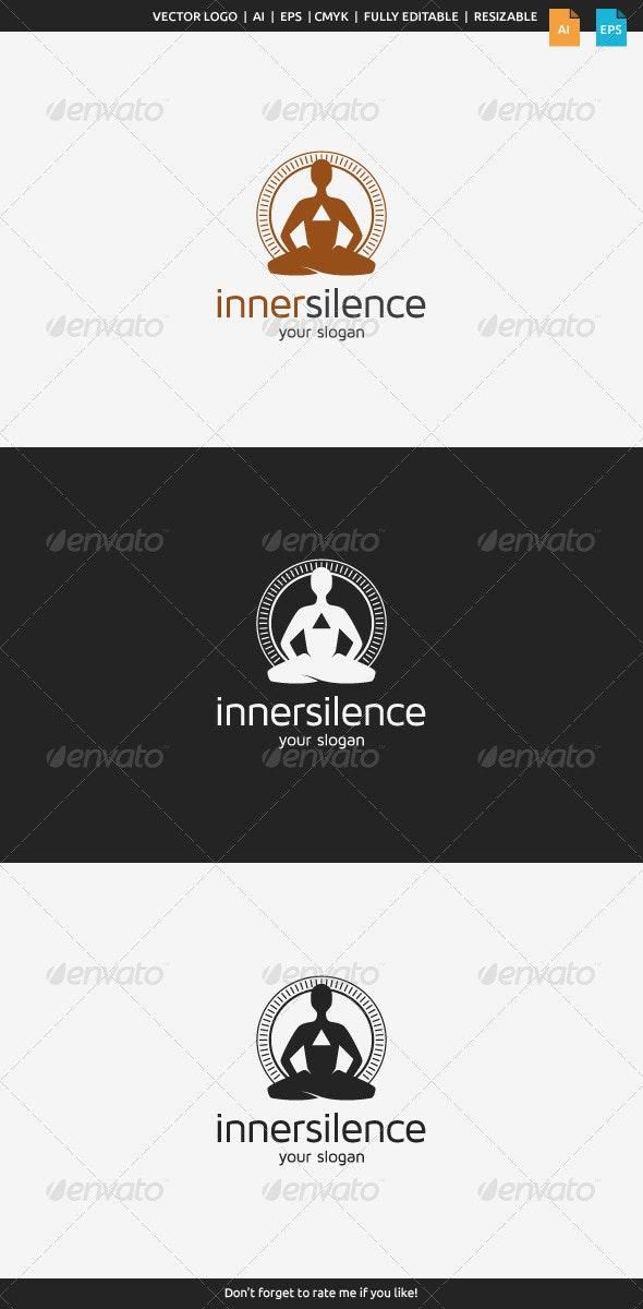 Inner Silence Logo - Humans Logo Templates