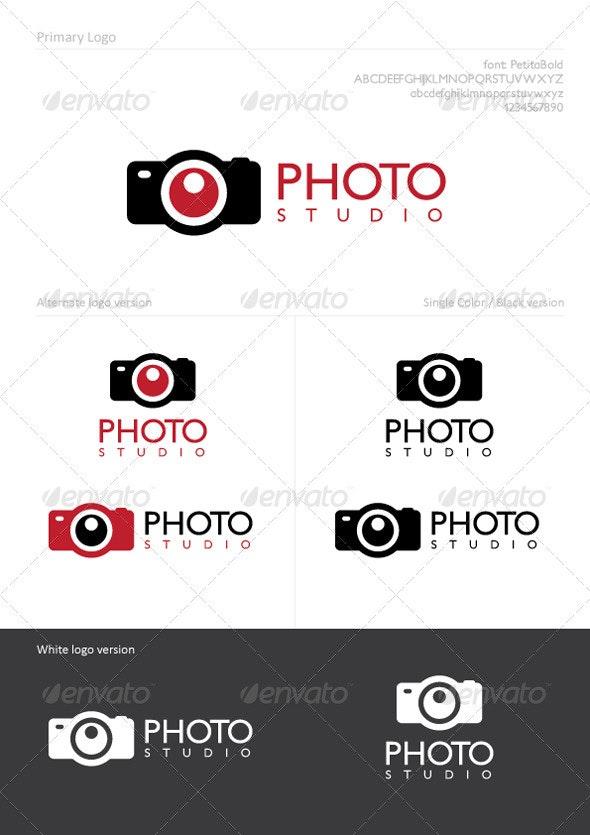 Photo Studio - Symbols Logo Templates