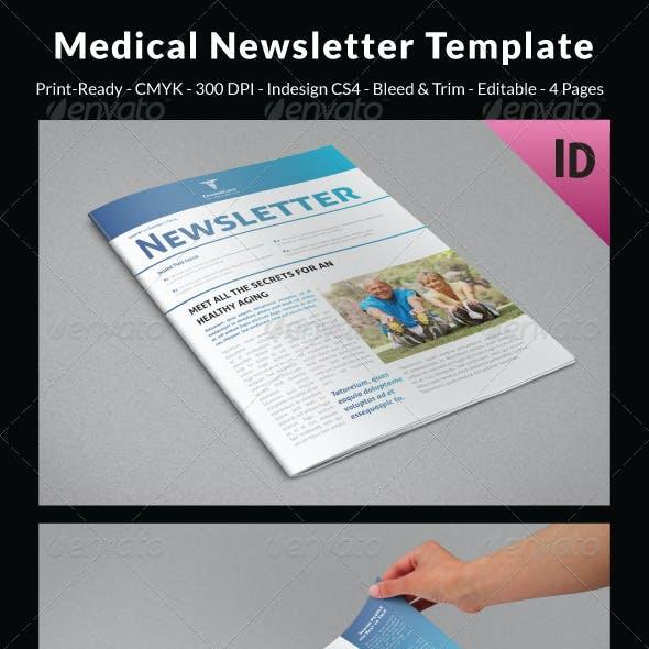 Medical Newsletter Template