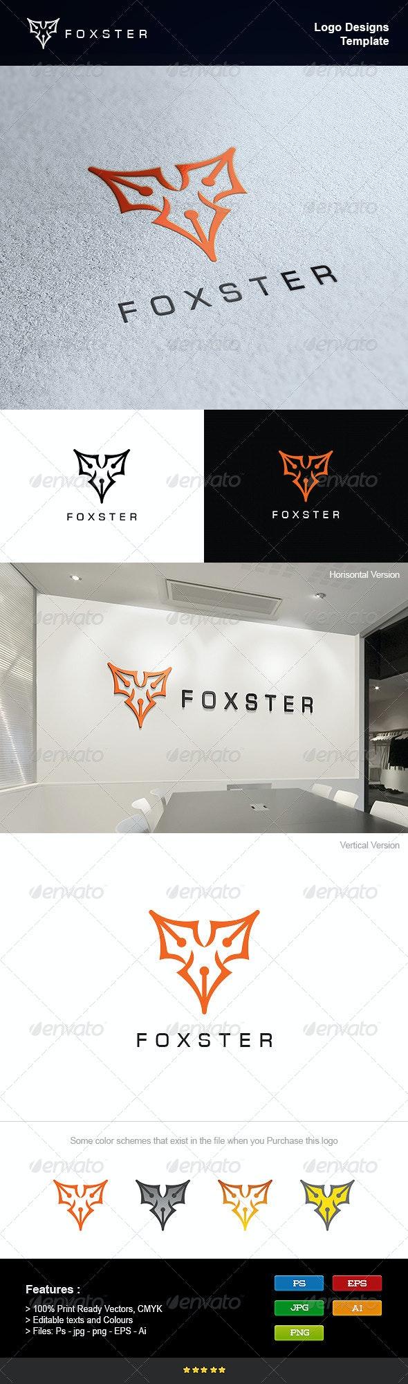Fox Writer - Symbols Logo Templates