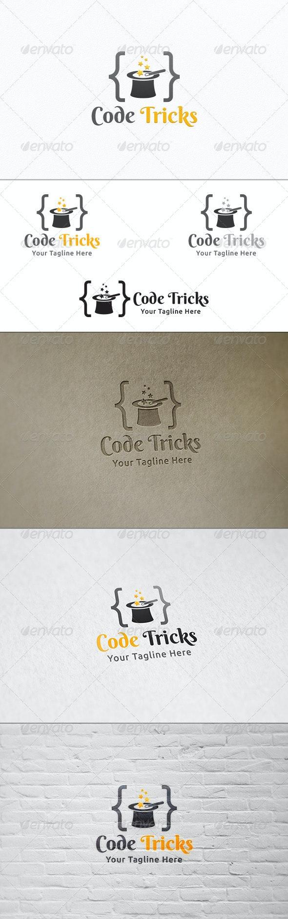 Code Tricks - Logo Template - Symbols Logo Templates