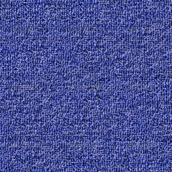 Seamless Blue Carpet Texture Tile