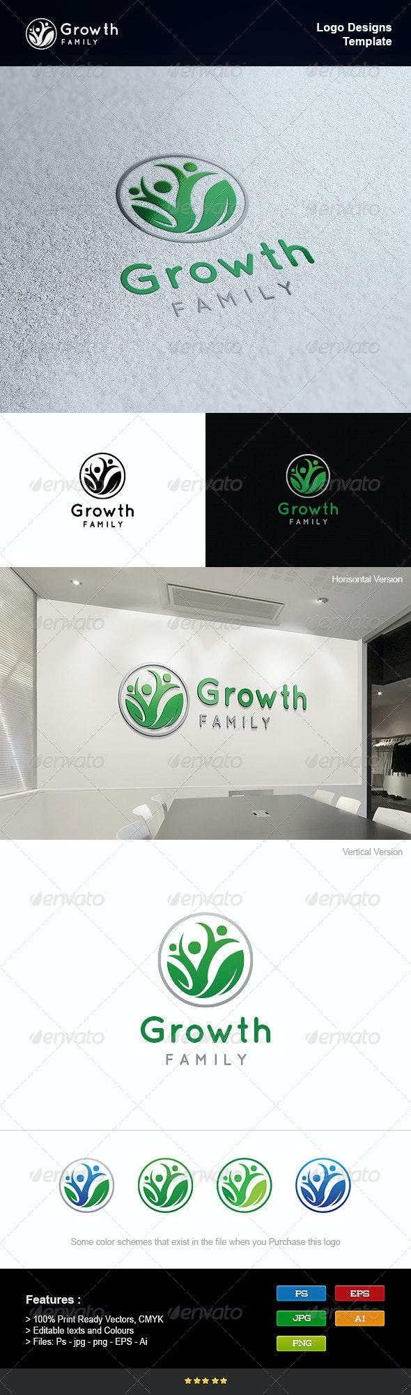 Family Growth - Humans Logo Templates