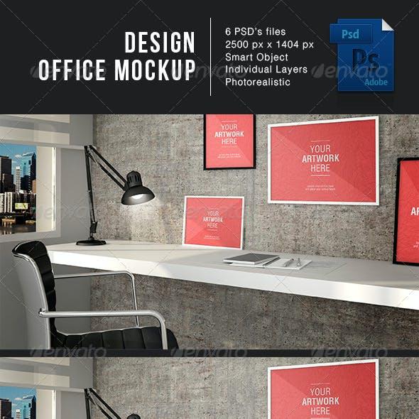 Design Office MockUp