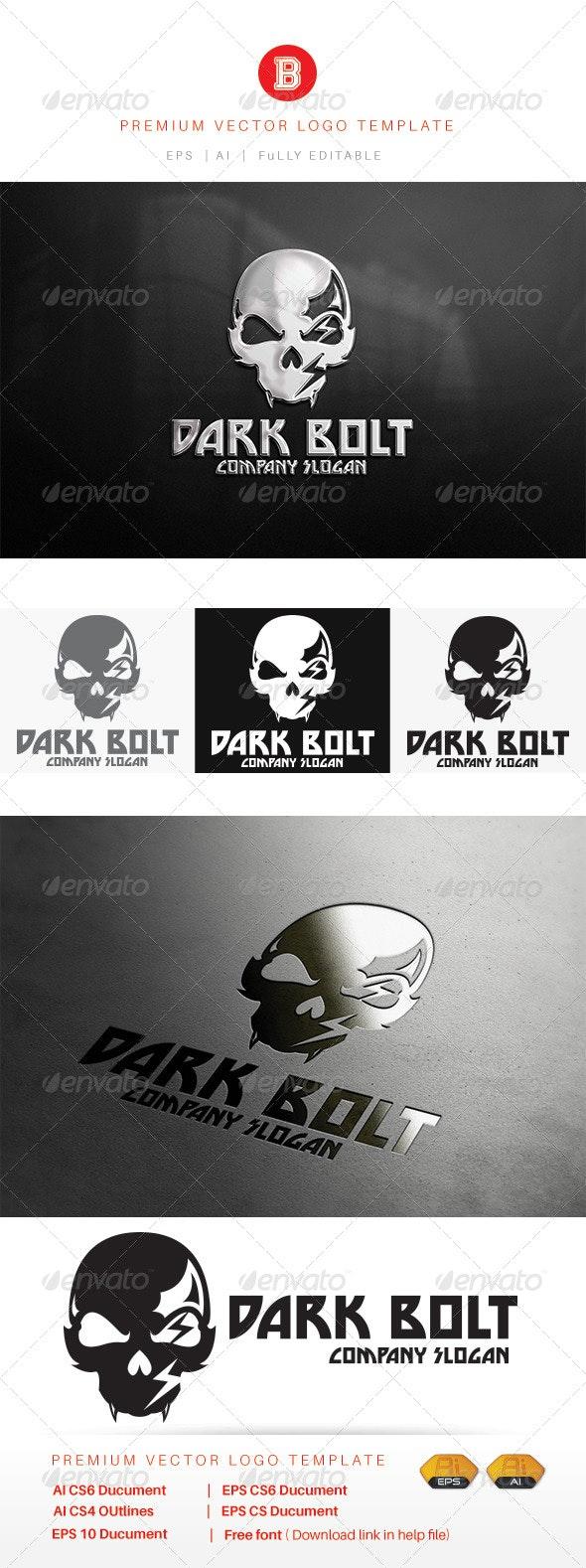 Dark Bolt - Humans Logo Templates