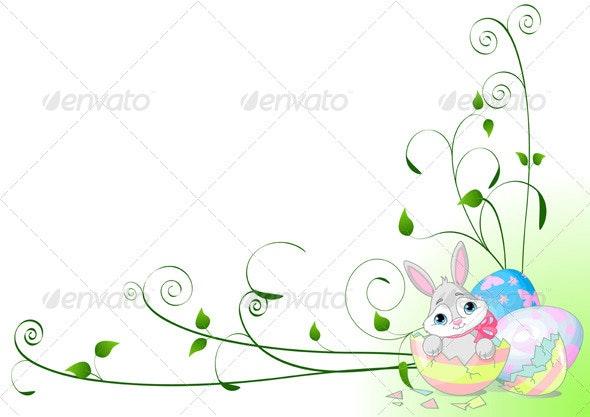 Easter Surprise  - Backgrounds Decorative