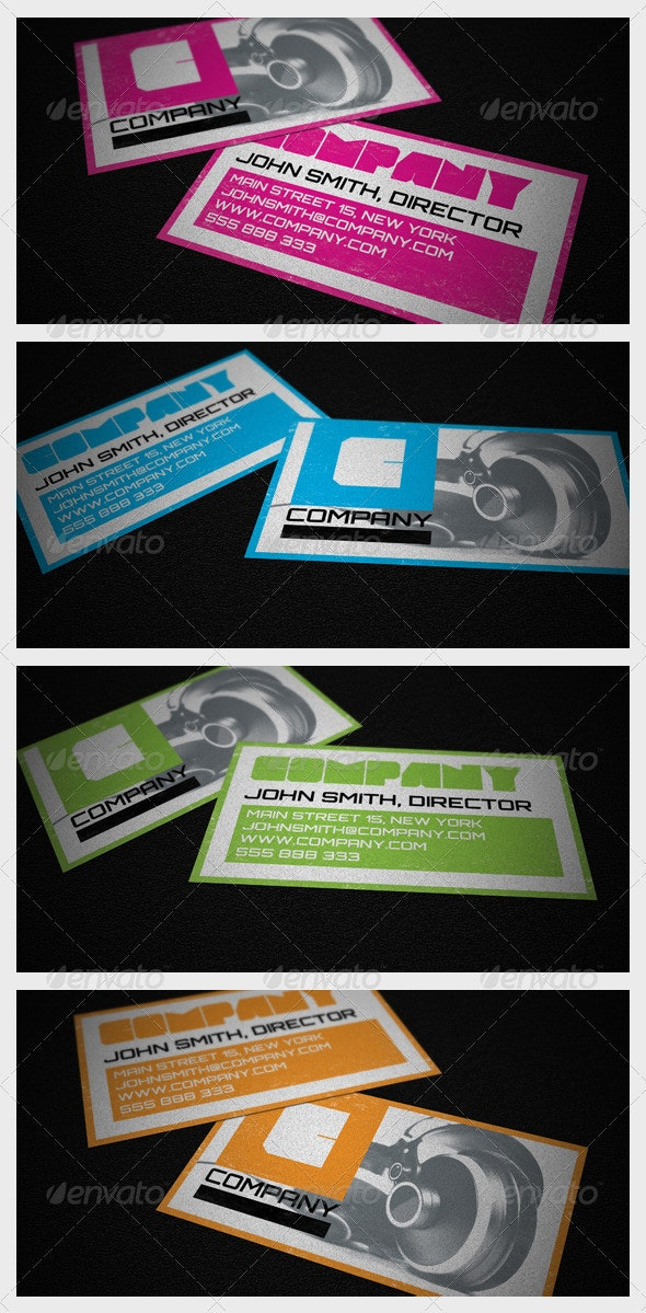 Cool Business Card - Creative Business Cards
