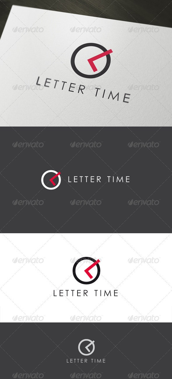 Letter Time - Letters Logo Templates