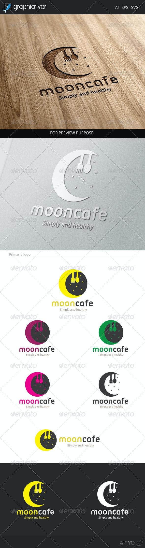 Moon Cafe Logo - Food Logo Templates