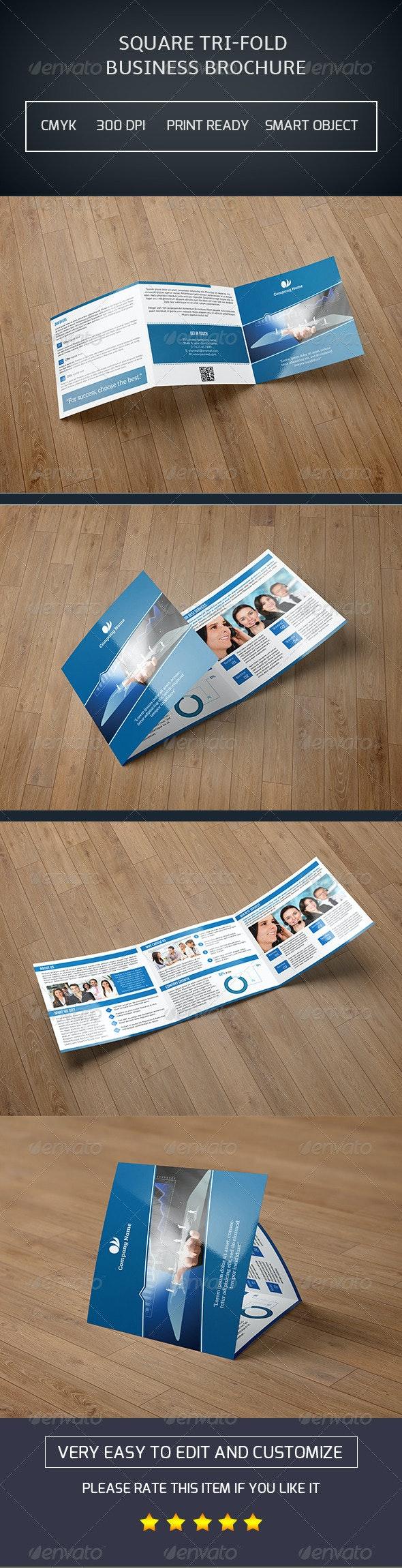 Square Trifold Brochure-V12 - Corporate Brochures