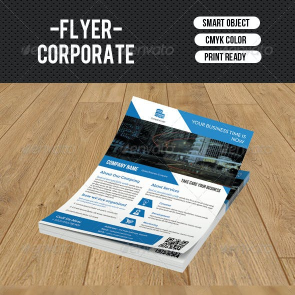 Corporate Flyer Template-V82