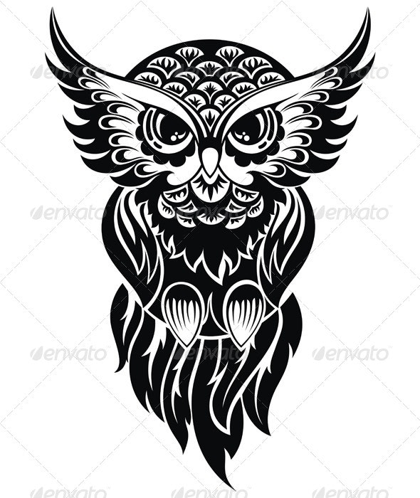 Owl - Animals Characters