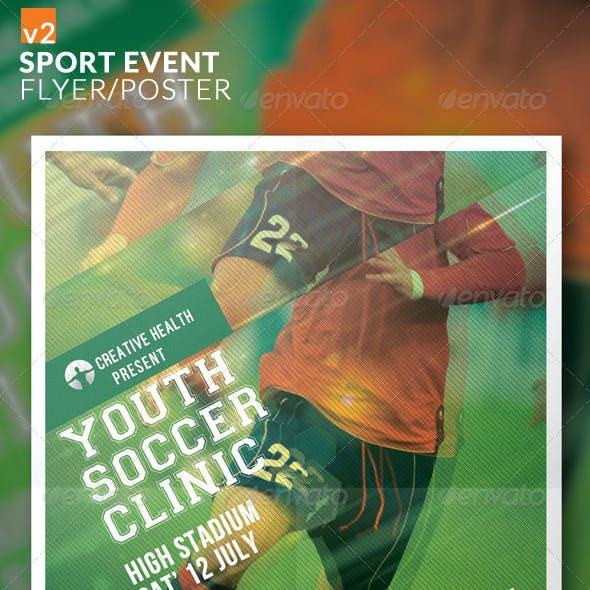 Sport Event Flyer/Poster v2