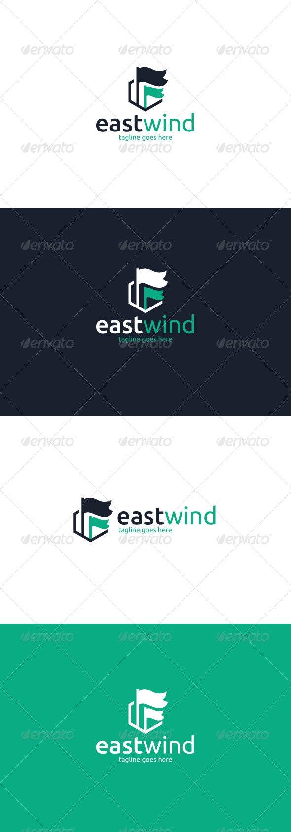 East Wind Logo - Objects Logo Templates