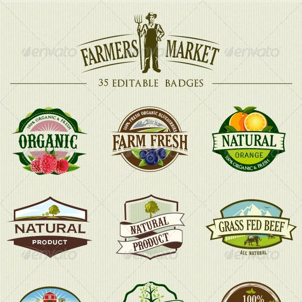 35 Organic Food Labels and Badges