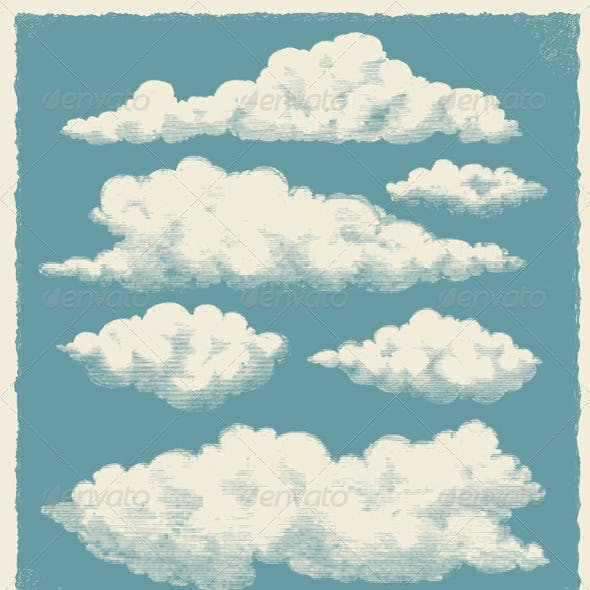 Vintage Cloud Background