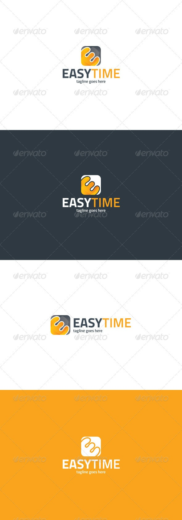 Easy Time Logo - Letters Logo Templates