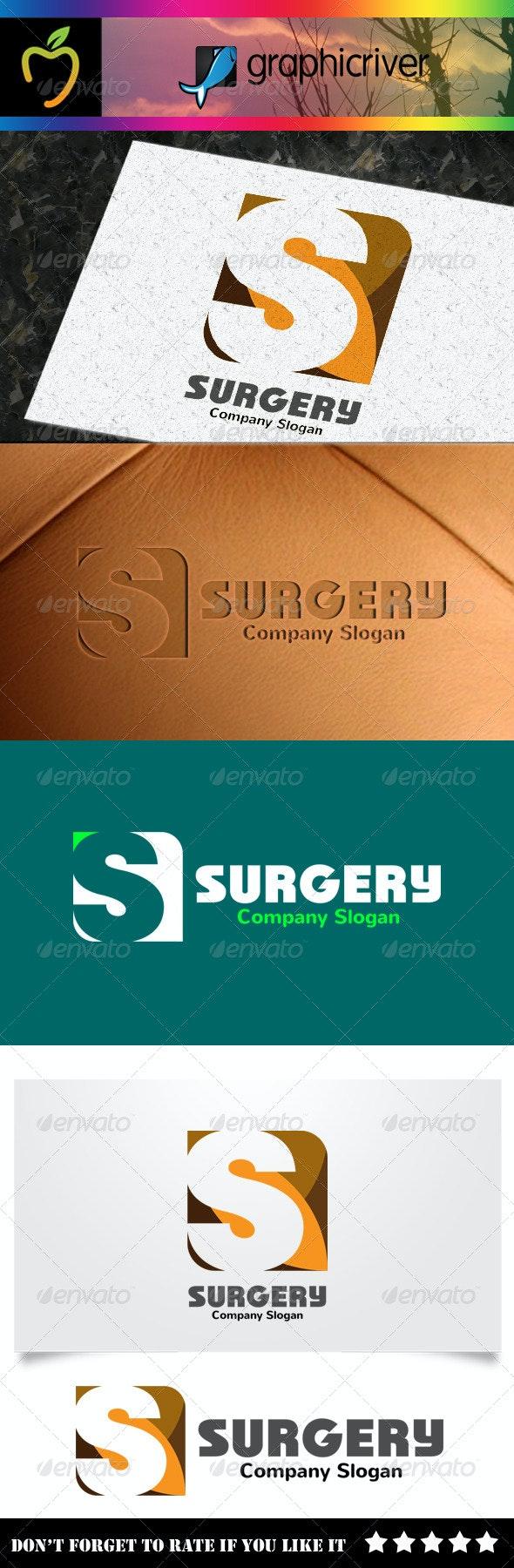 Surgery - S Letter Logo - Letters Logo Templates