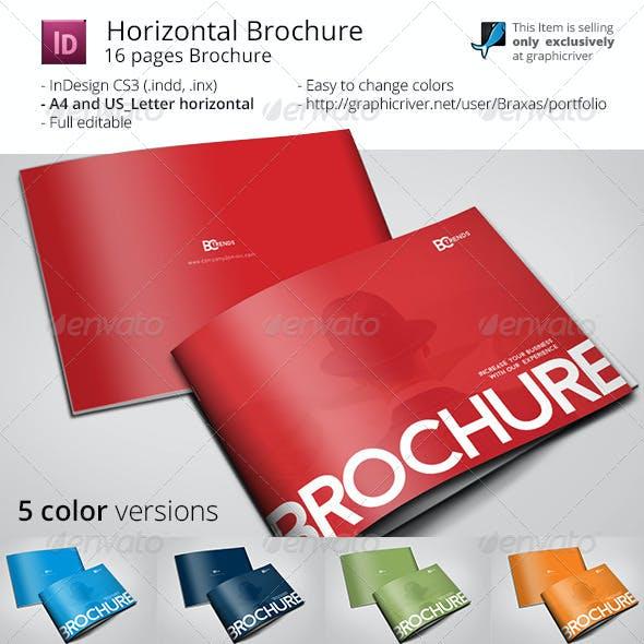 Business Brochure Horizontal