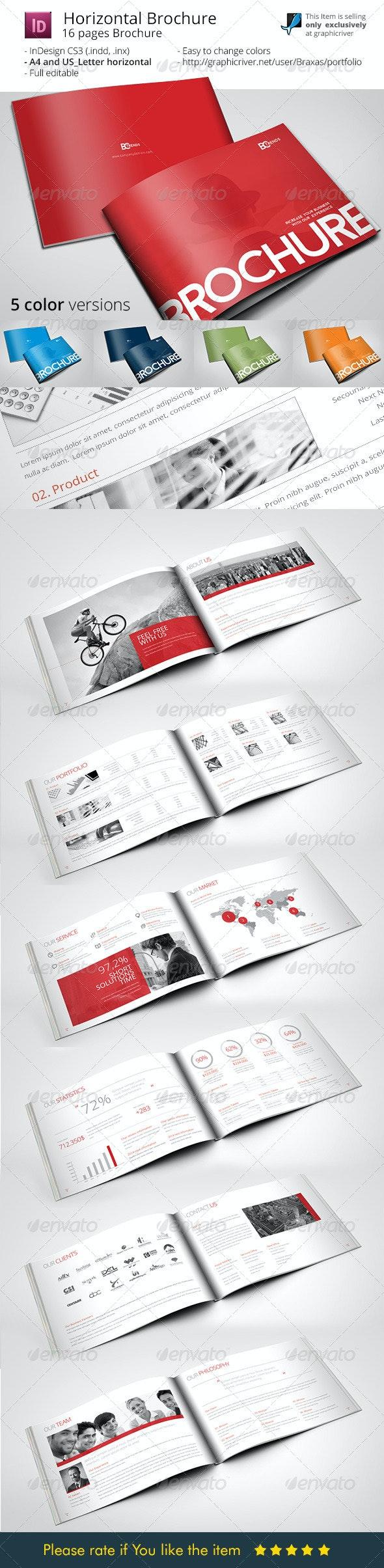 Business Brochure Horizontal - Corporate Brochures