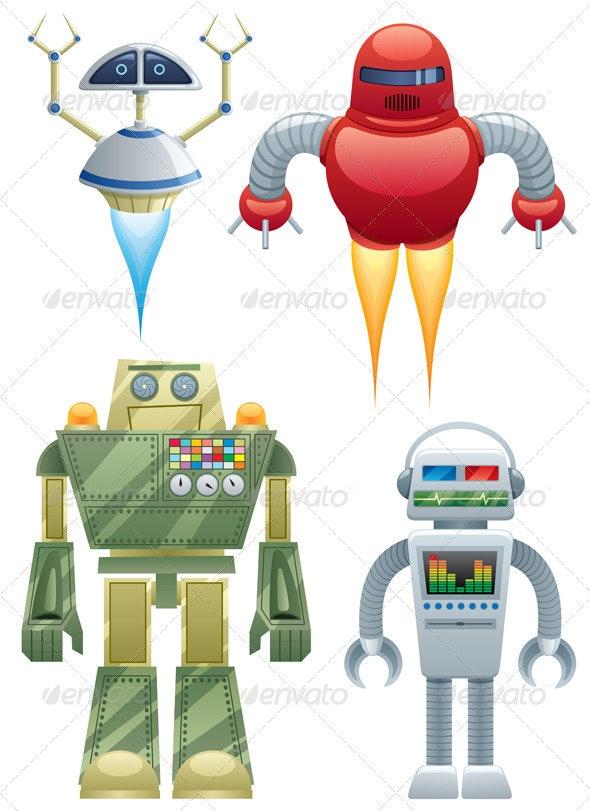 Robots - Characters Vectors