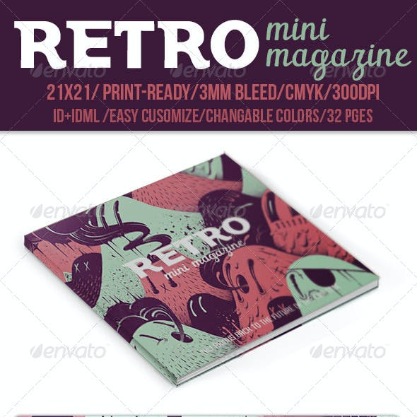 Retro Mini Magazine