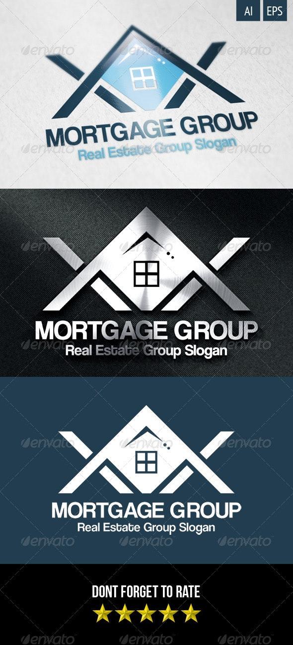 Mortgage Group Logo - Buildings Logo Templates