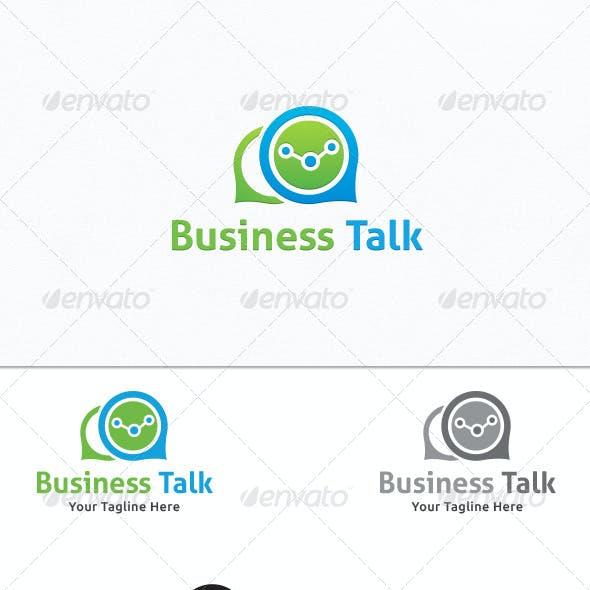 Business Talk - Logo Template