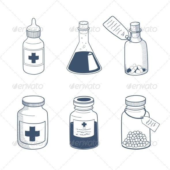 Medicines Drugs Collection