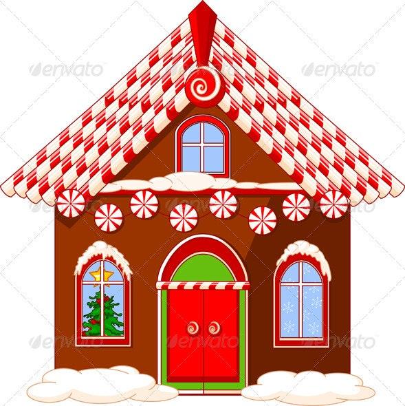 Christmas House - Christmas Seasons/Holidays