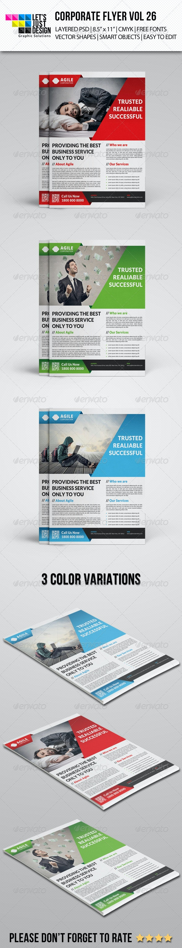 Corporate Flyer Template Vol 26 - Corporate Flyers