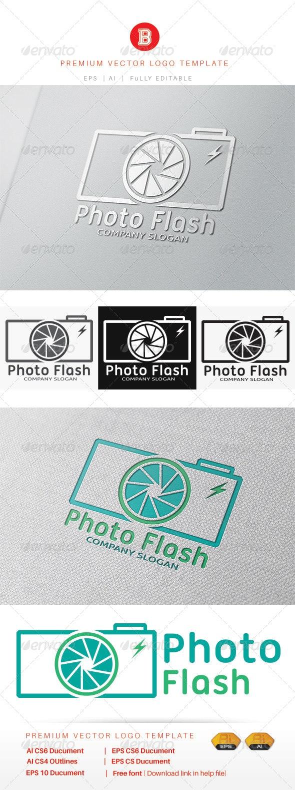 Photo Flash - Objects Logo Templates