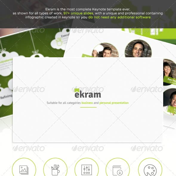 Ekram - The Most Complete Keynote Template