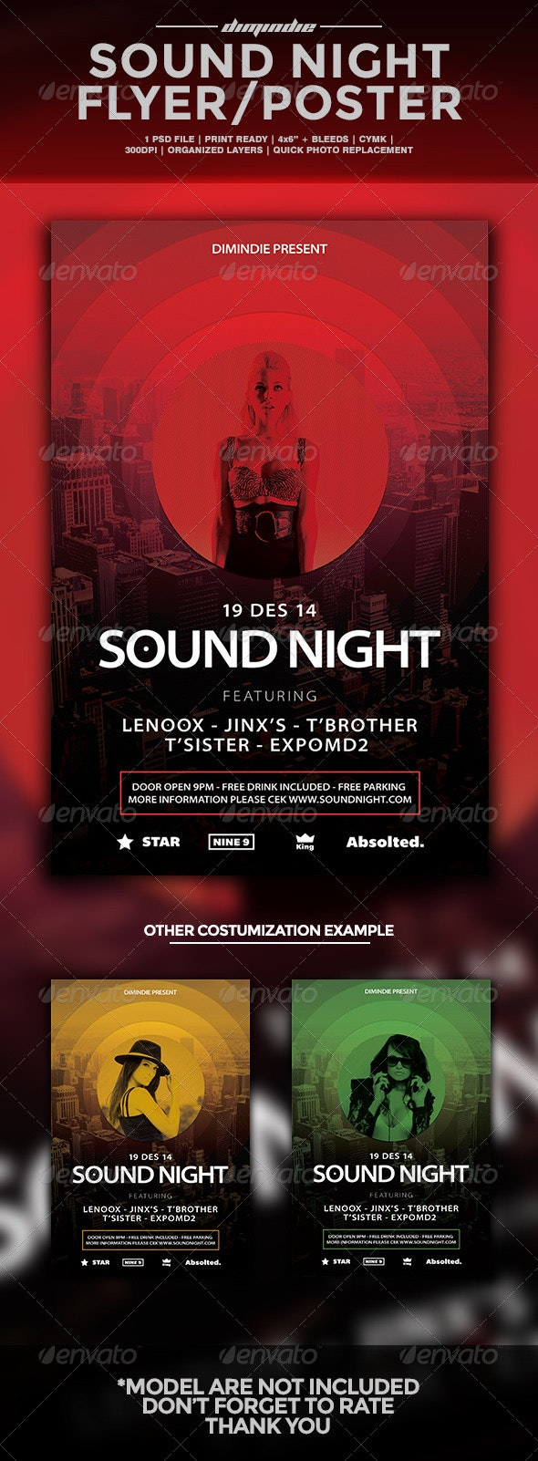 Sound Night  - Clubs & Parties Events