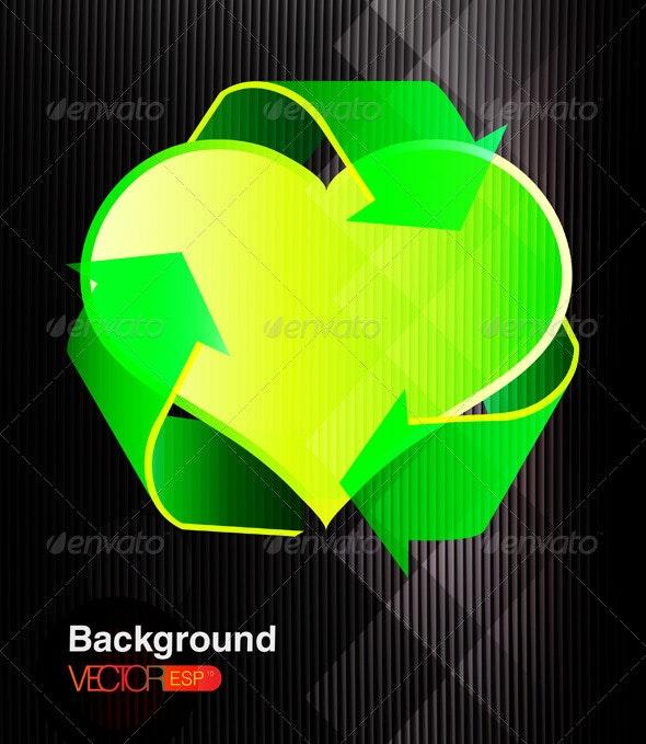 Recycling Symbol  - Objects Vectors