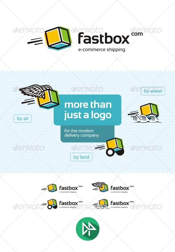 Fastbox Logo Template - Logo Templates