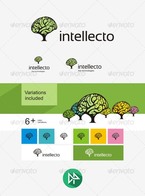 Intellecto Logo Template - Logo Templates