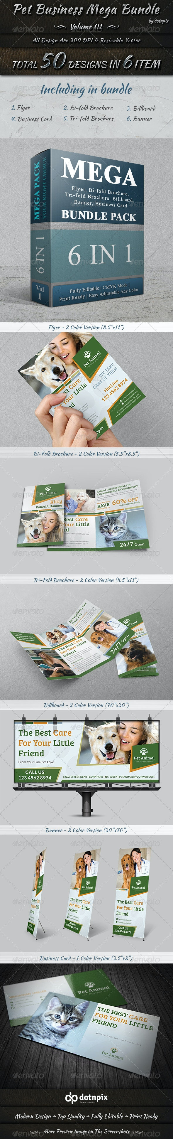 Pet Business Mega Bundle - Print Templates