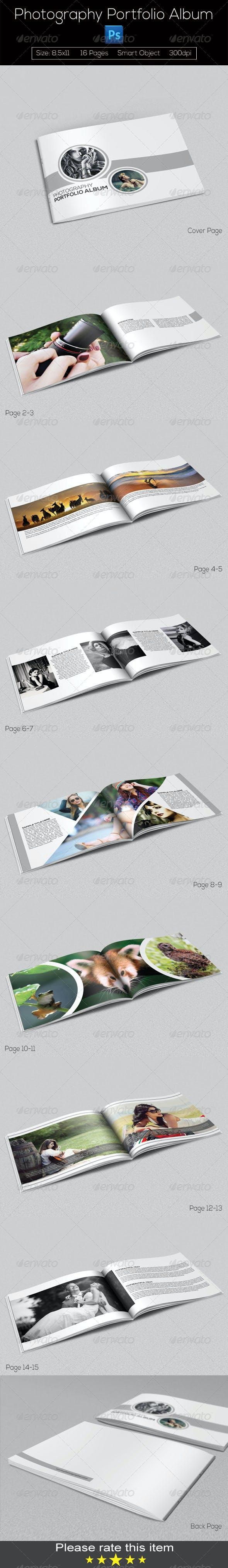 Photography Portfolio Album