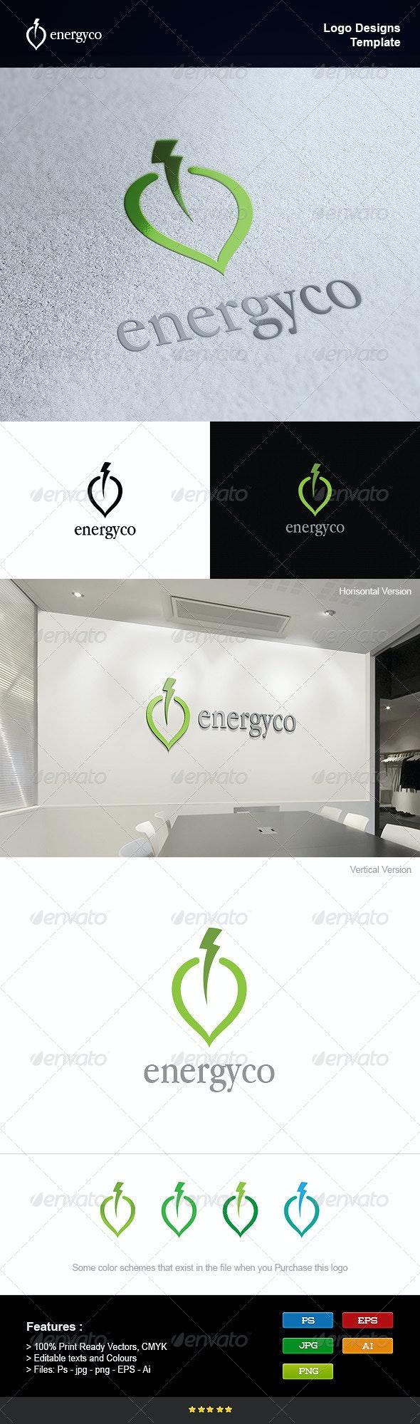 Eco Power Energy - Nature Logo Templates