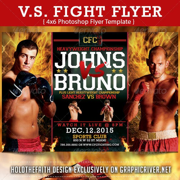 V.S Fight Flyer