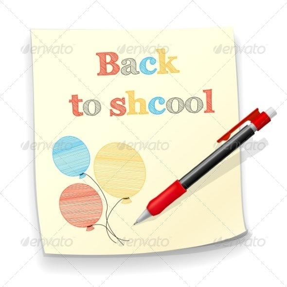Back to School Background - Miscellaneous Conceptual
