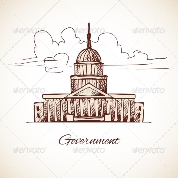 Government Building - Buildings Objects