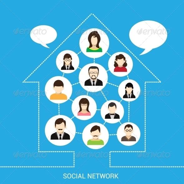 Social Network House - Communications Technology