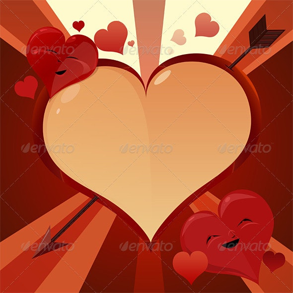 Valentine hearts - Miscellaneous Backgrounds