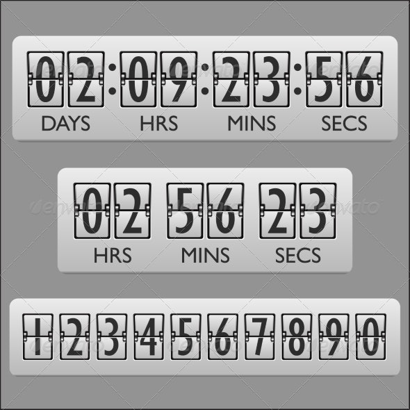 Countdown Clock Timer - Computers Technology