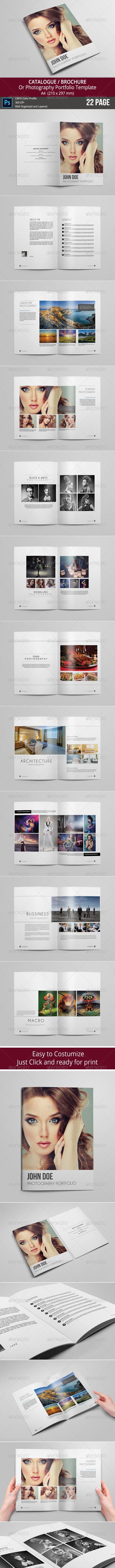 Catalogue / Brochure / Portfolio - Portfolio Brochures