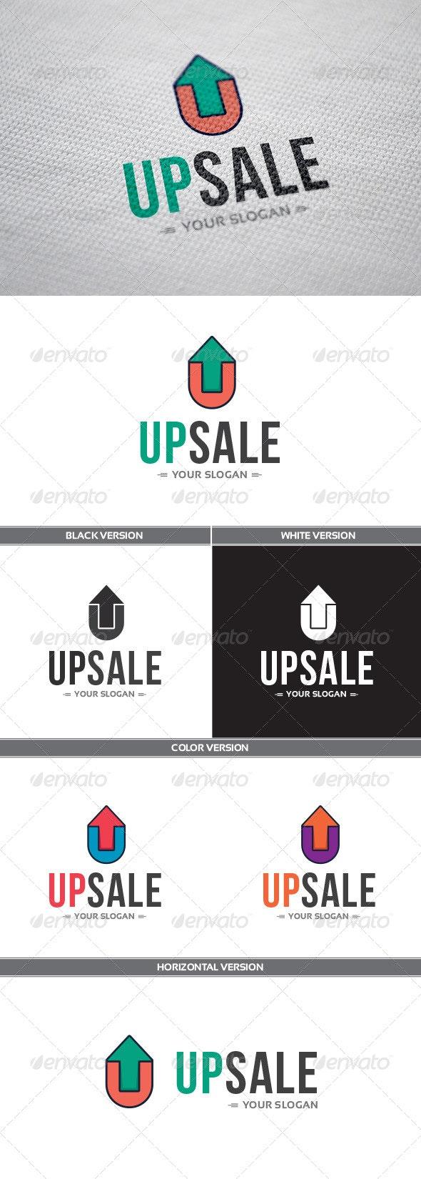 UpSale Logo - Letters Logo Templates