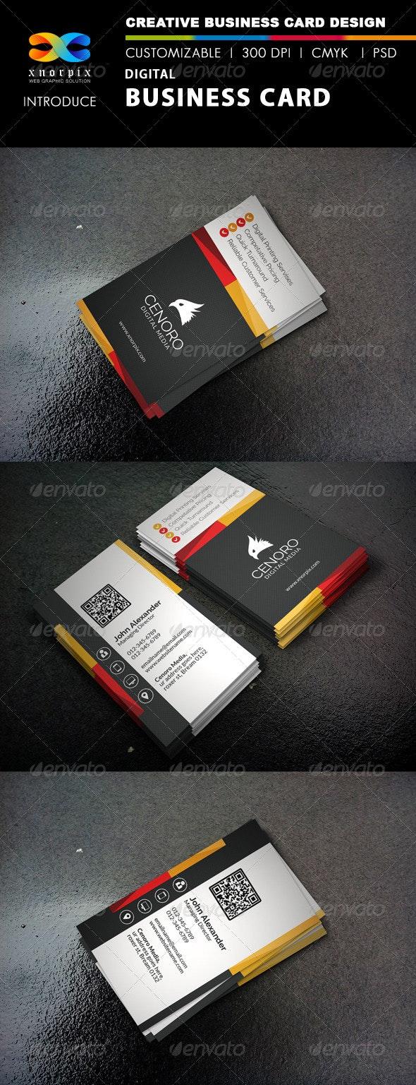 Digital Business Card - Corporate Business Cards